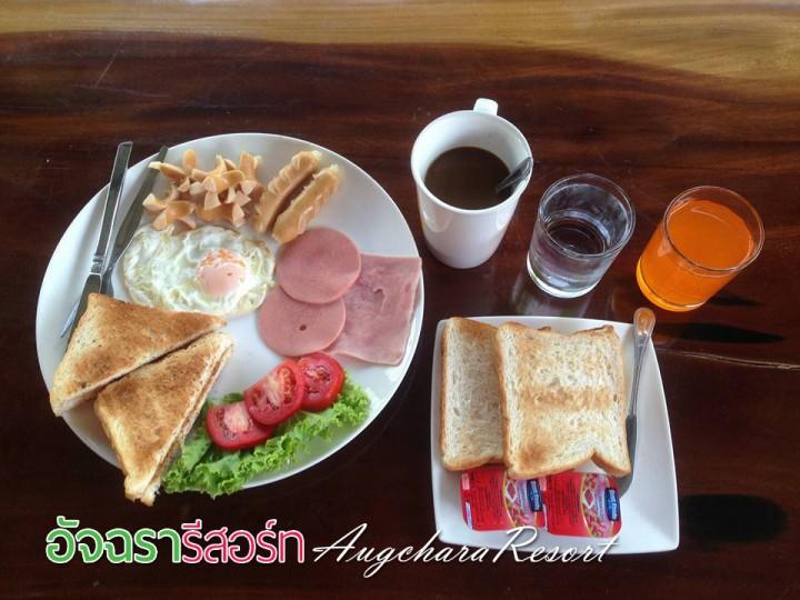 อาหารเช้า_อัจฉรารีสอร์ท