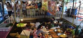 กิจกรรม ท่องเที่ยวตลาดน้ำลำพญา อิ่มอร่อยกับอาหารนานาชนิด